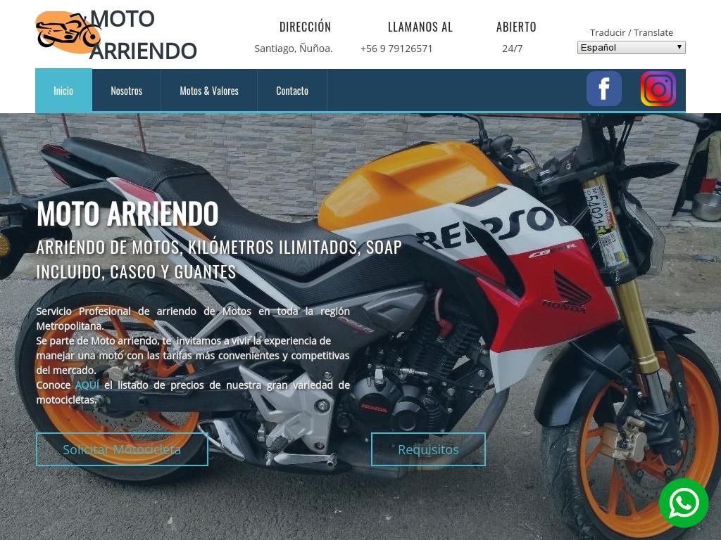 ▷ Arriendo de Motos en Sanyiago de Chile _ Arriendo de Motocicletas