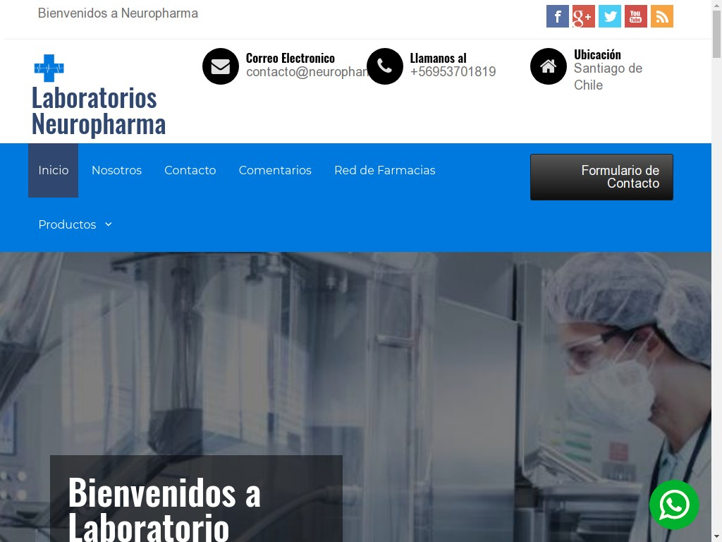 ▷ Laboratorio Neuropharma _ Productos Farmacéuticos y Nutracéuticos